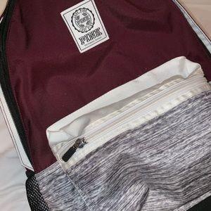 PINK maroon backpack